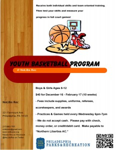 Winter 2015-16 Youth BBall