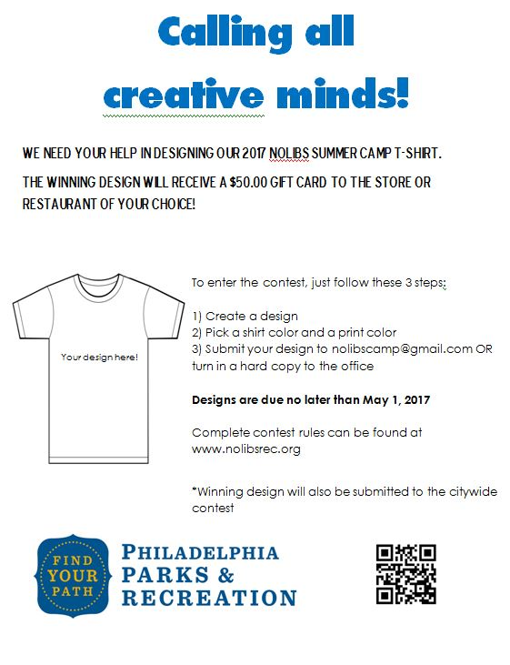 Tshirt Design Contest Flyer 2017